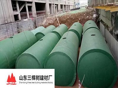 济南钢筋混凝土一体化粪池