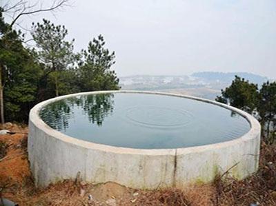 青岛钢筋混凝土蓄水池