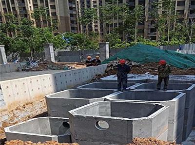 10号40立方混凝土化粪池