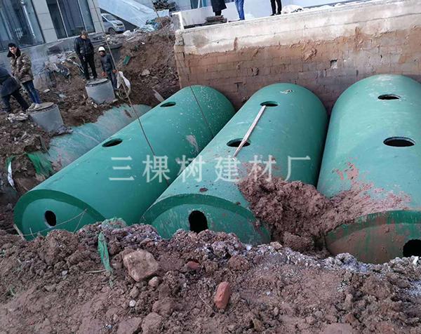 玻璃钢化粪池污水处理
