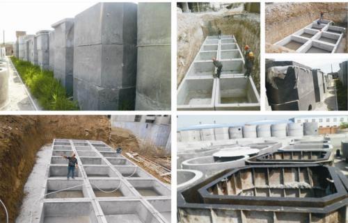 钢筋混凝土蓄水池厂家