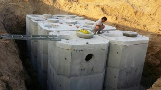山东钢筋混凝土蓄水池