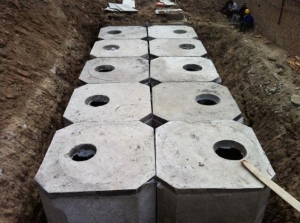 12号75立方混凝土化粪池